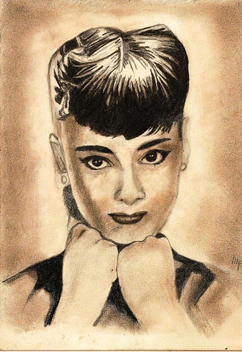 Audrey Hepburn par patrick